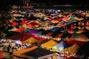 [ラチャダーピセーク]スタジオ アパートメント(17 m2)/1バスルーム The Village-A (7 min walk to MRT Phra Ram 9)