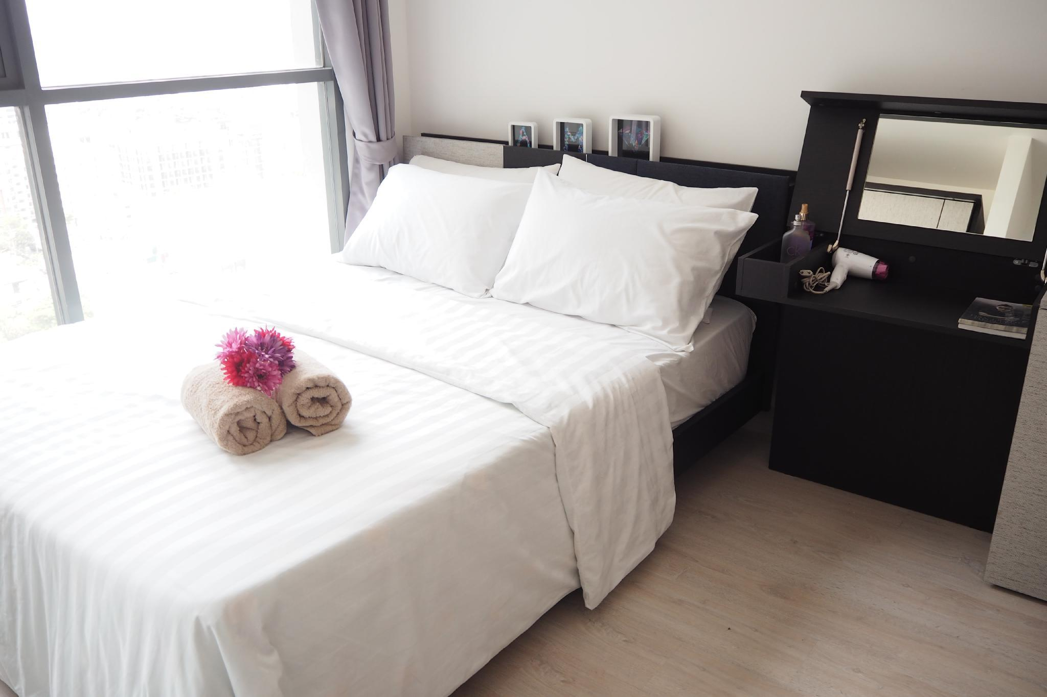 Lucky Home 1BR 1min To Sukhumvit BTS On Nut