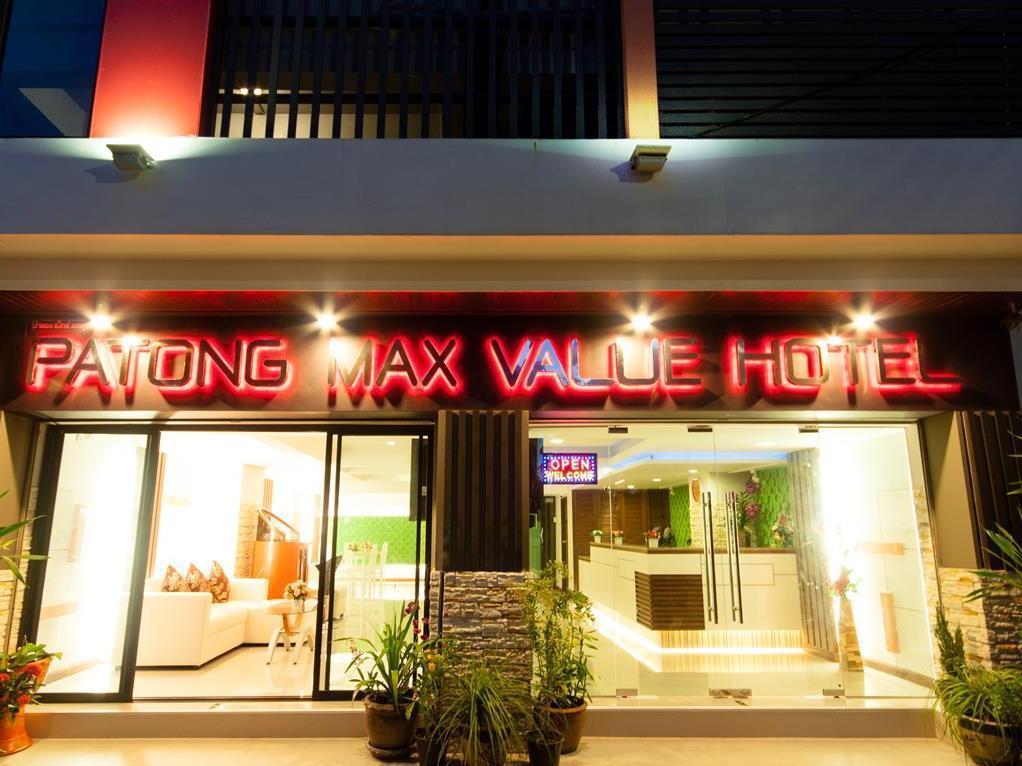 Patong Max Value Hotel โรงแรมป่าตอง แมกซ์แวลู