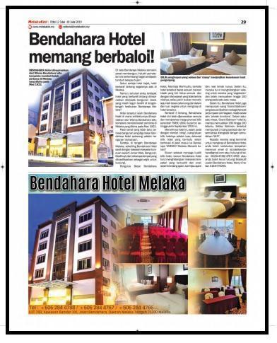 Hotel Bendahara @ Malacca City