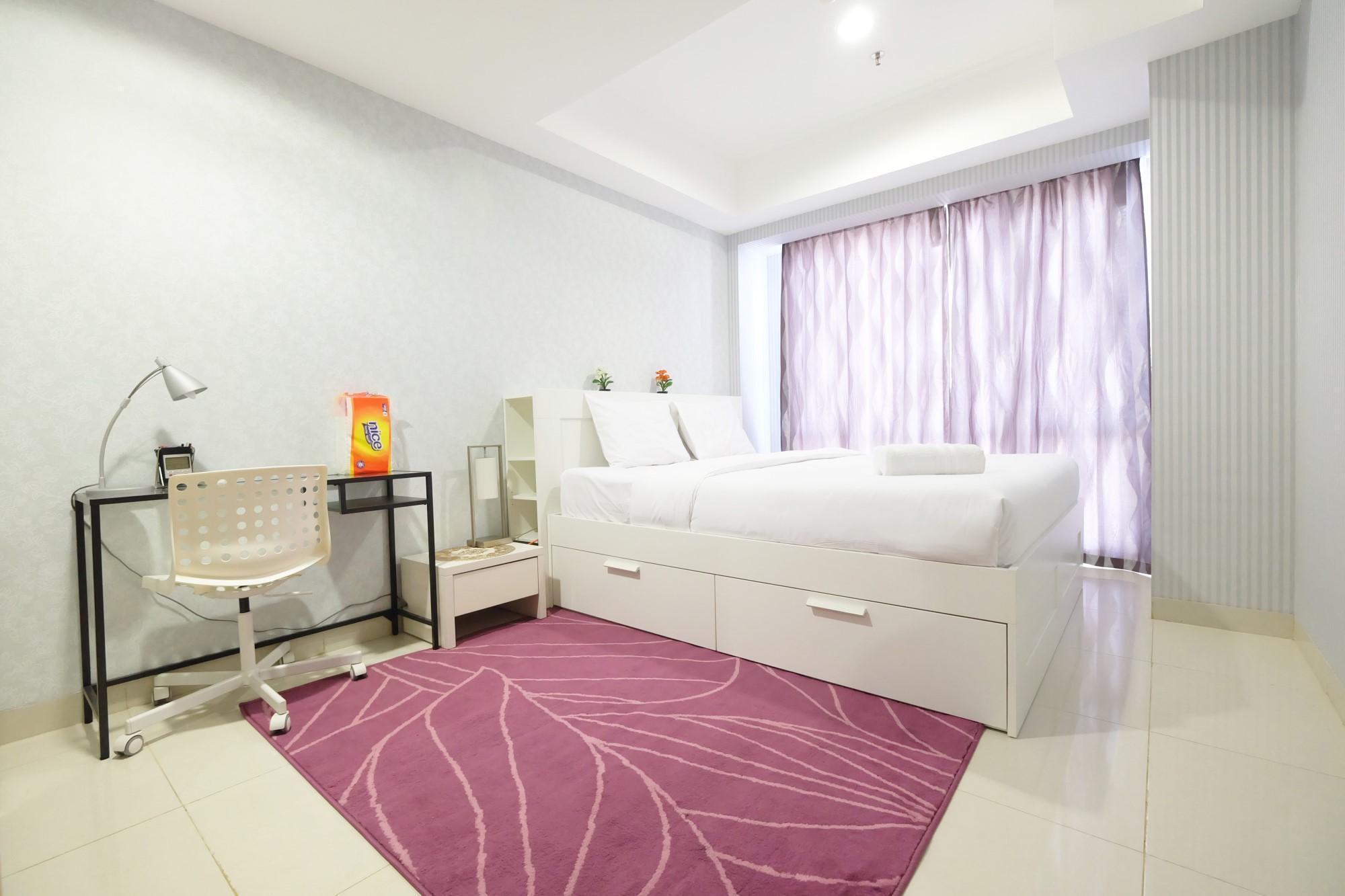 Elegant 1BR The Mansion Apartment Near Kemayoran
