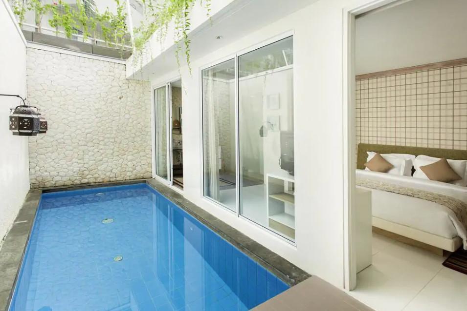 124 Suite Room Private Pool Beach Front Nusa Dua