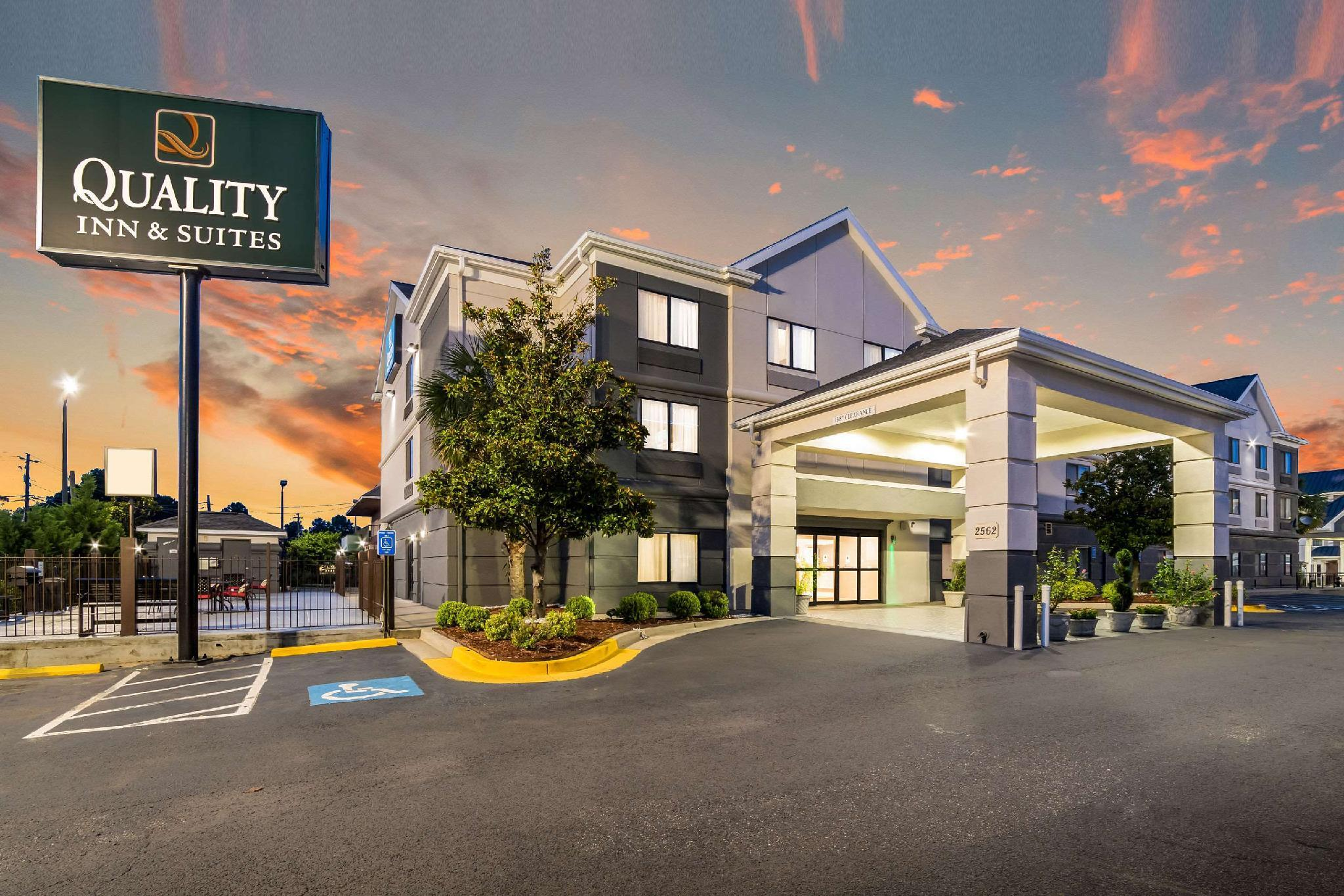 Quality Inn And Suites Augusta I 20