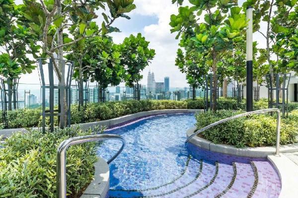 ROOFTOP POOL @ 1BR 3Pax KL Hot spot #Hom Kuala Lumpur