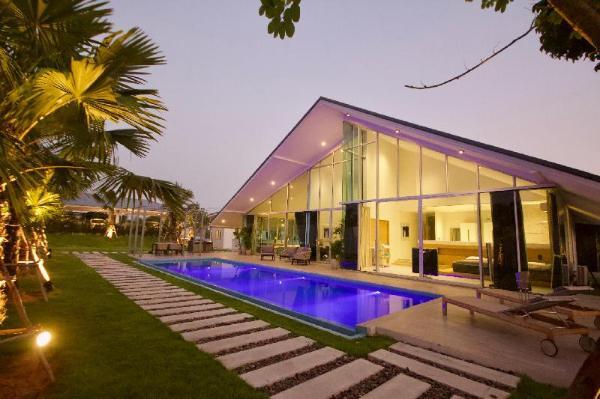 Luxury Pool Villa (19p) Hua Hin. Netflix & PSP4 Hua Hin
