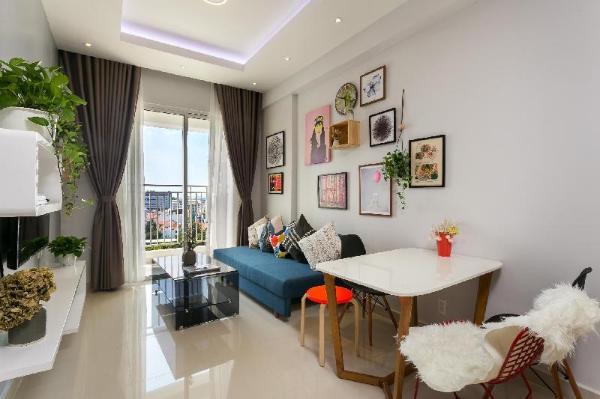 KIRAKUAN PARKVIEW LUXURY 2BR/Balcony/POOL,GYM Ho Chi Minh City