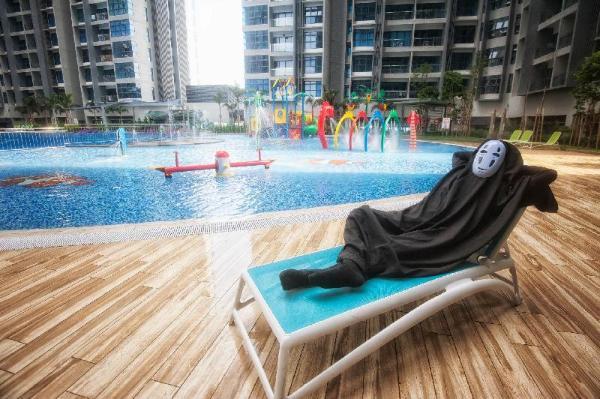 No Face BnB Malacca 1265sqf/JonkerMelaka/Pool&Wifi Malacca