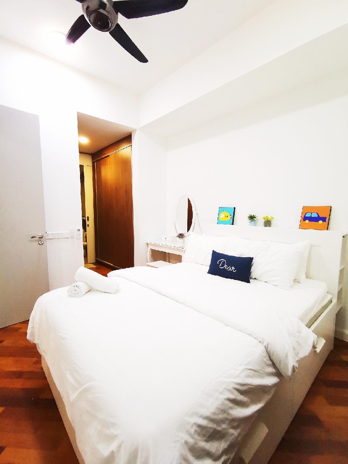 Grand Medini  4pax  WIFI  A23 @ JB City Home