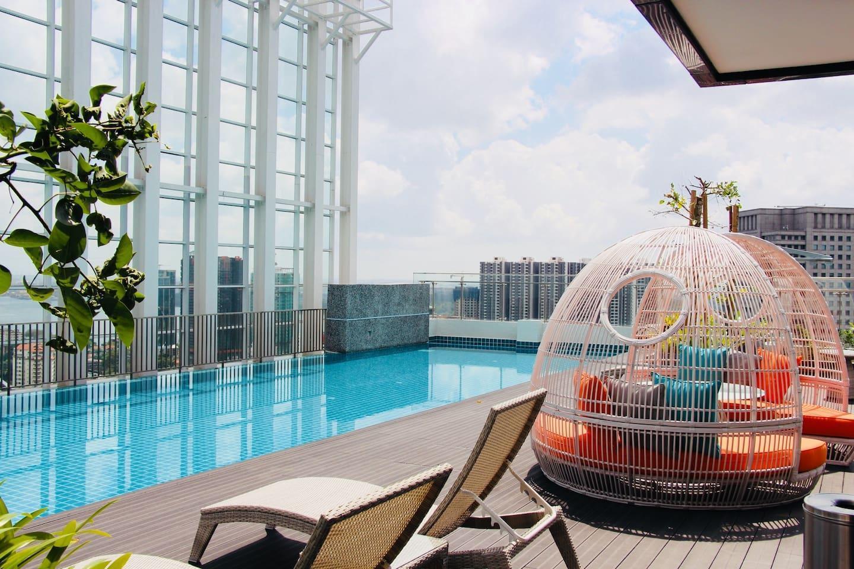 High Floor Suasana 23A10 In Johor Bahru + WiFi
