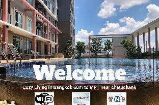 [チャトチャック]アパートメント(30m2)| 1ベッドルーム/1バスルーム Cozy Living in Bangkok 60m to MRT near chatuchank