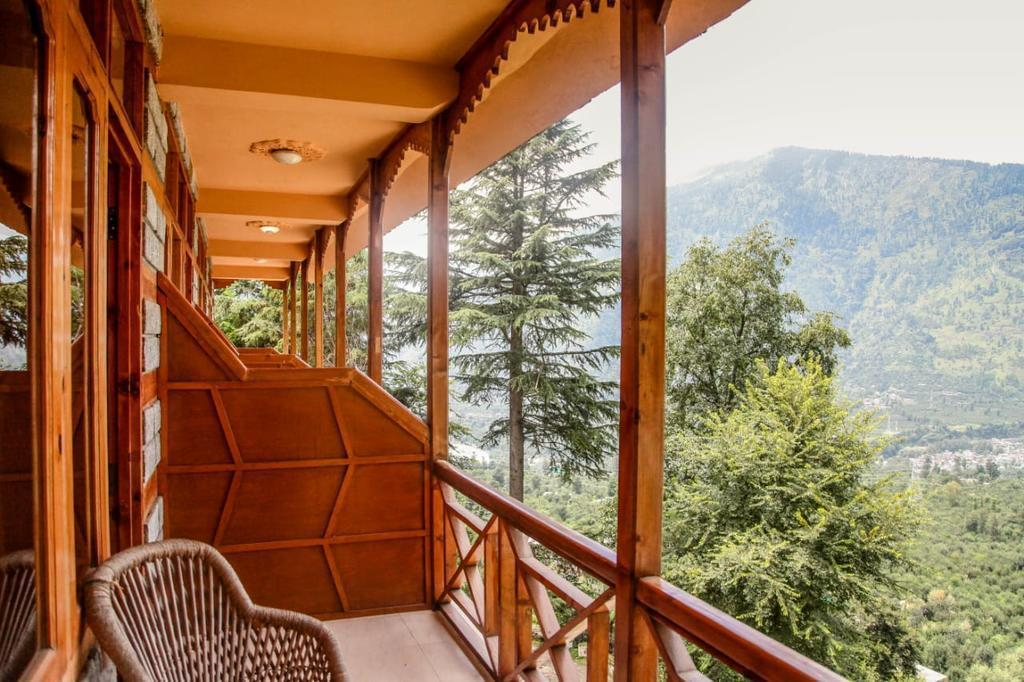 Snow Capped Mountain View Rooms At Manali