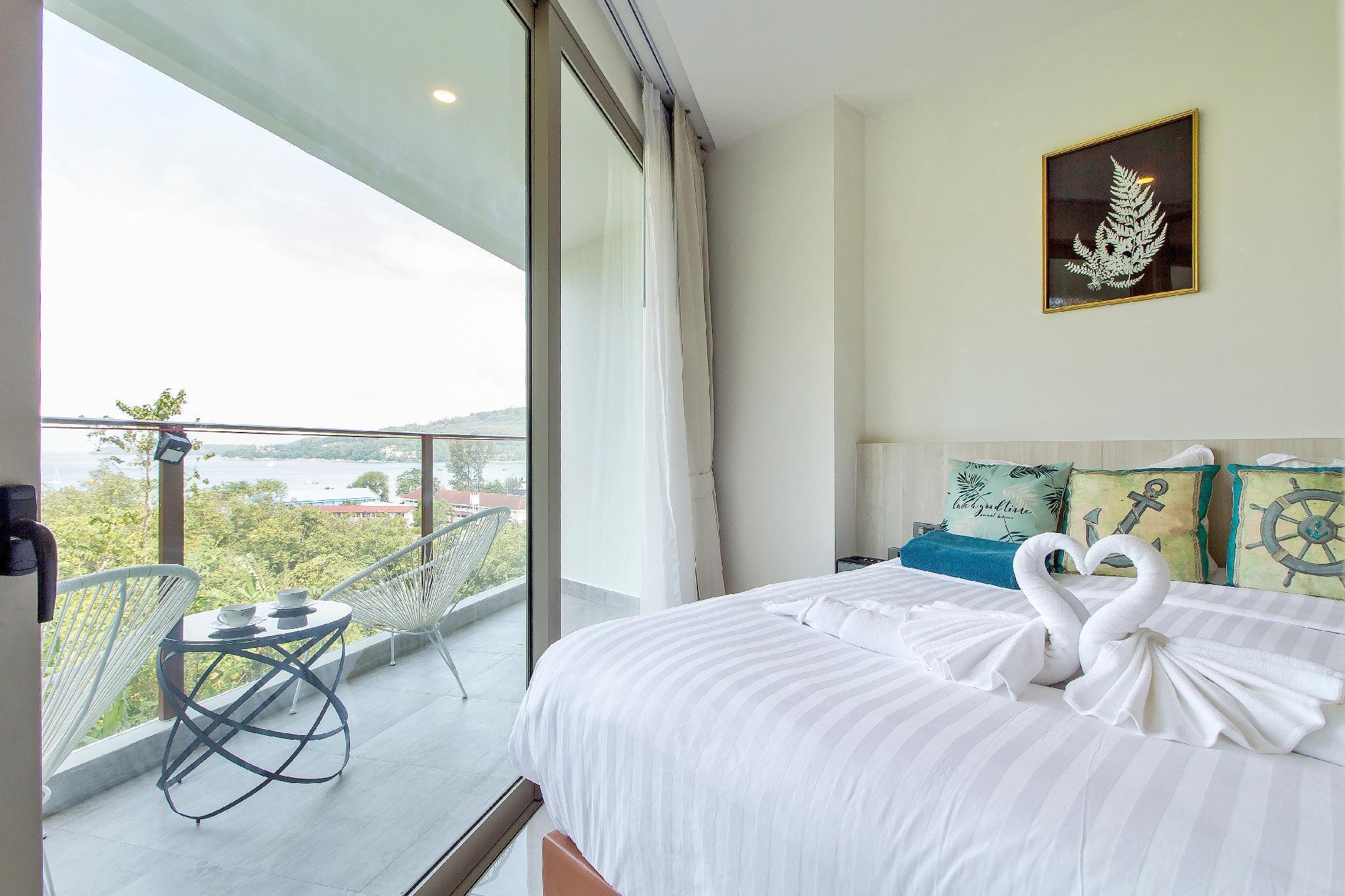 oceana seaview apartment(300meters to sea beach) อพาร์ตเมนต์ 1 ห้องนอน 1 ห้องน้ำส่วนตัว ขนาด 43 ตร.ม. – กมลา