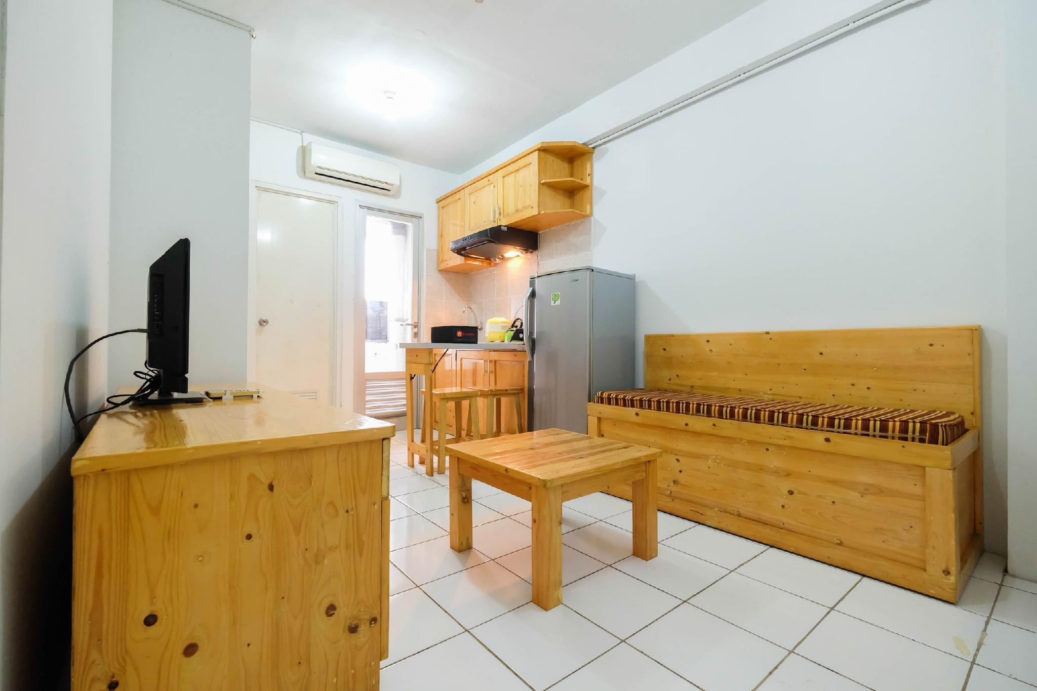Classic 2BR Apt Gading Nias Residence By Travelio