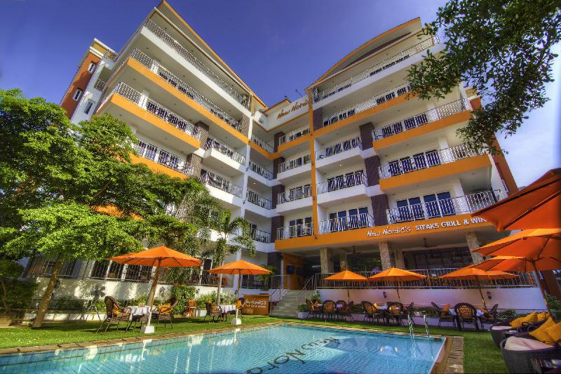 Siste New Nordic Marcus Hotel Pattaya in Thailand ZO-87