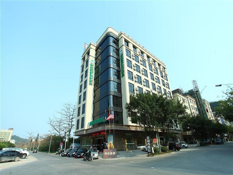 GreenTree Inn GuangDong HuiZhou South Railway Station DanShui RenMin Road Business Hotel