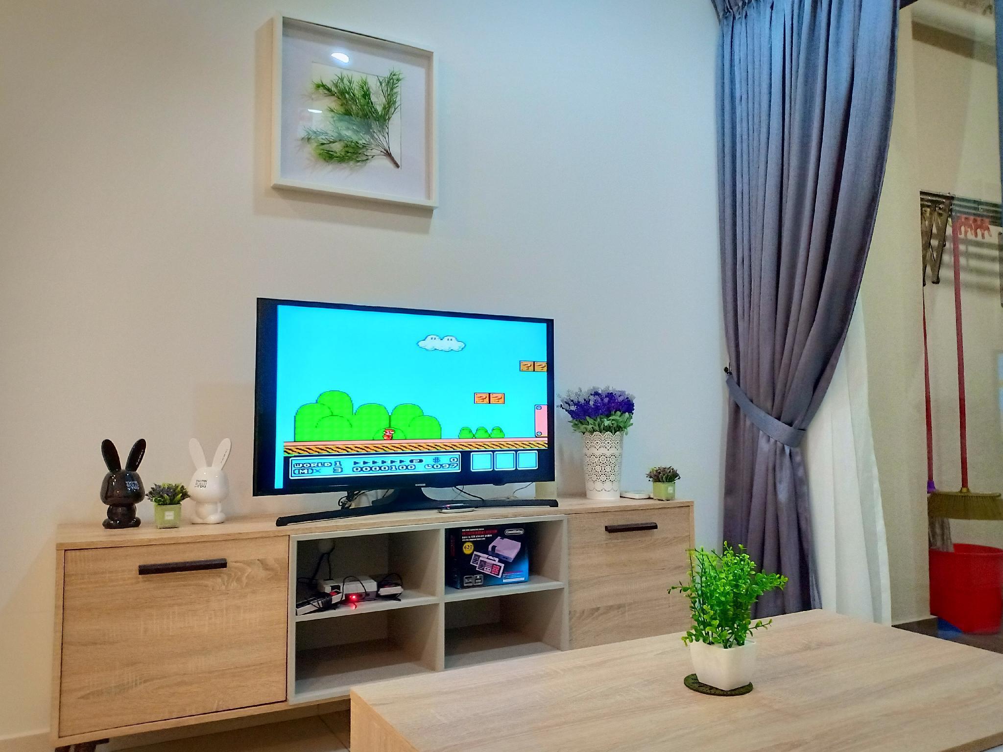 Fun Game Sweet Home And Wi Fi@ Danga Bay Seaview
