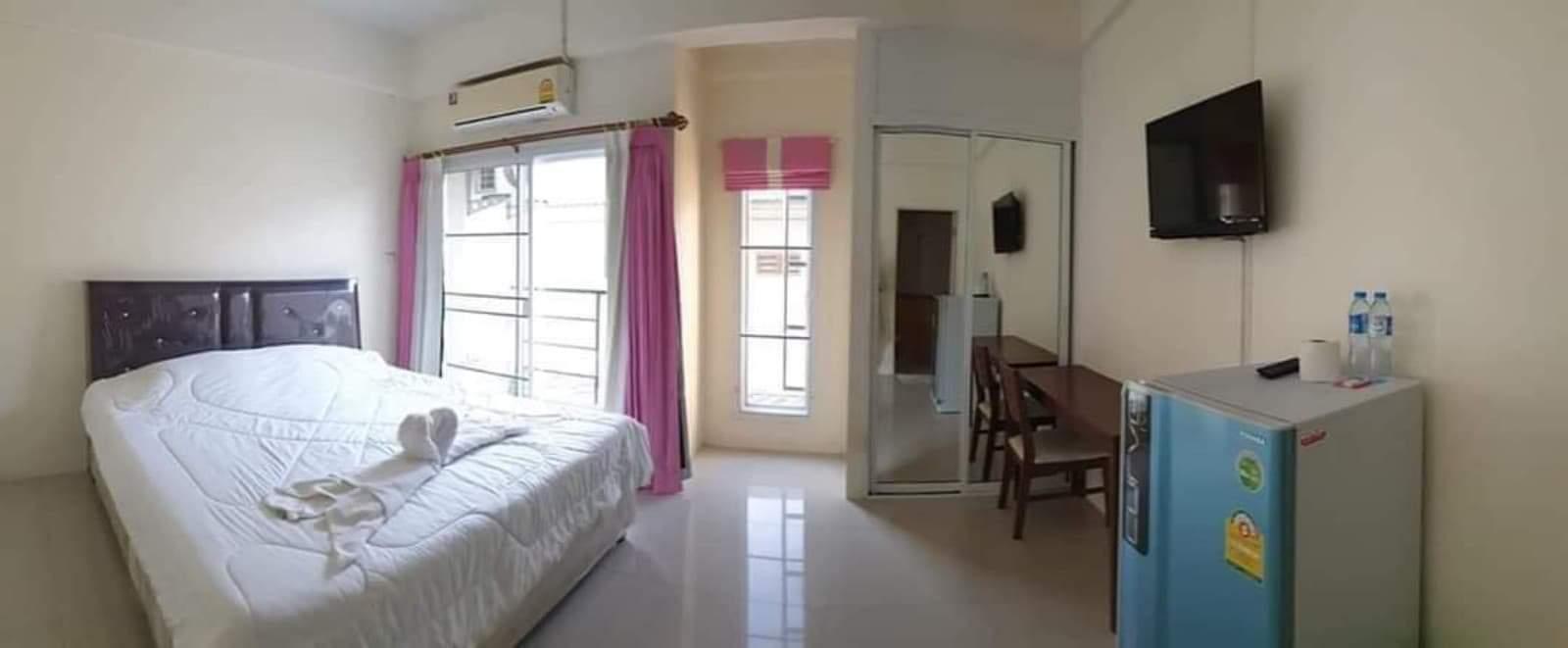 Memmory Bangsean อพาร์ตเมนต์ 1 ห้องนอน 1 ห้องน้ำส่วนตัว ขนาด 24 ตร.ม. – บางแสน