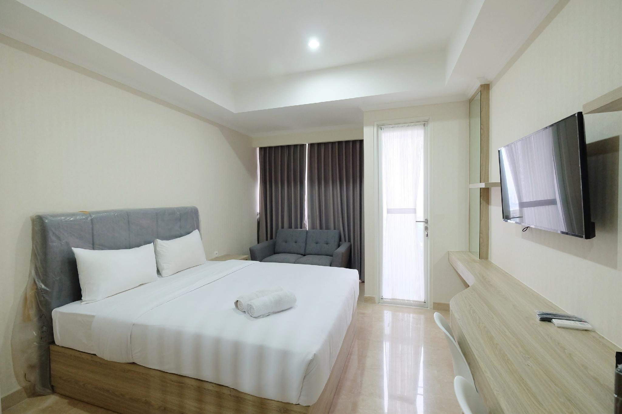 Homey Studio Menteng Park Apartment By Travelio