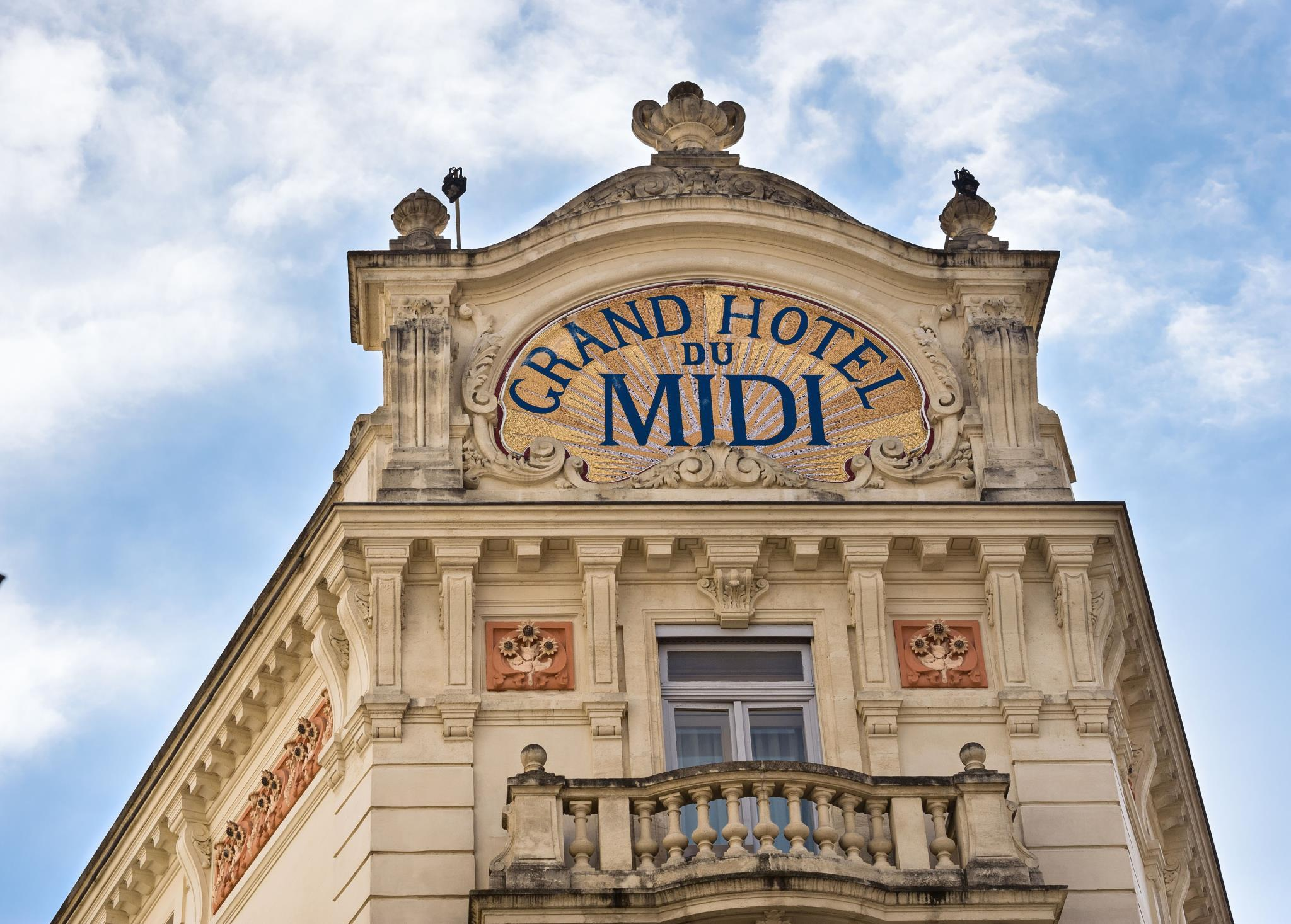 Montpellier grand hotel du midi chateaux hotels for Hotels montpellier