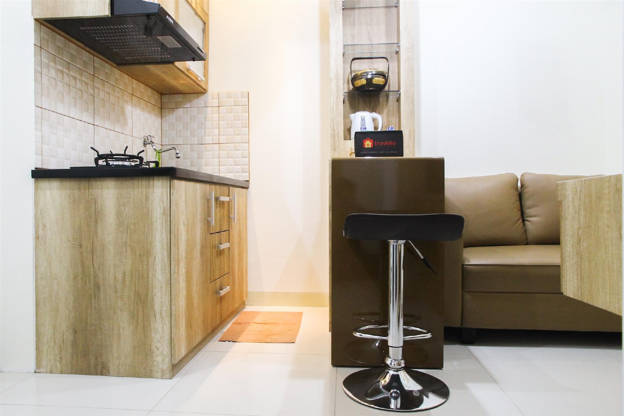 Well Designed 2BR Green Pramuka Apt By Travelio