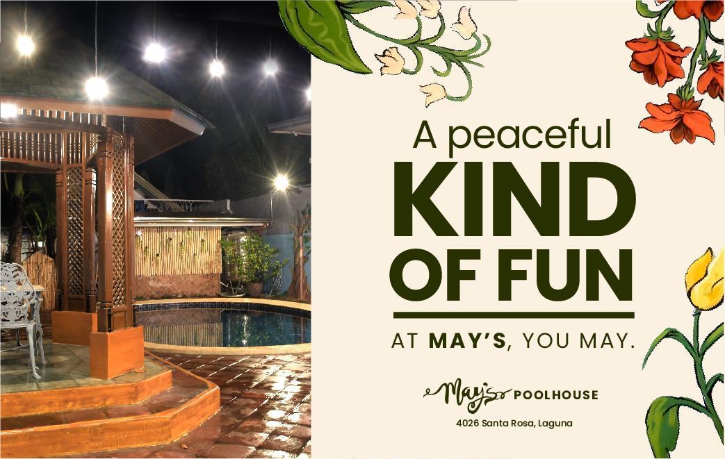 May's Pool House Near Enchanted Kingdom