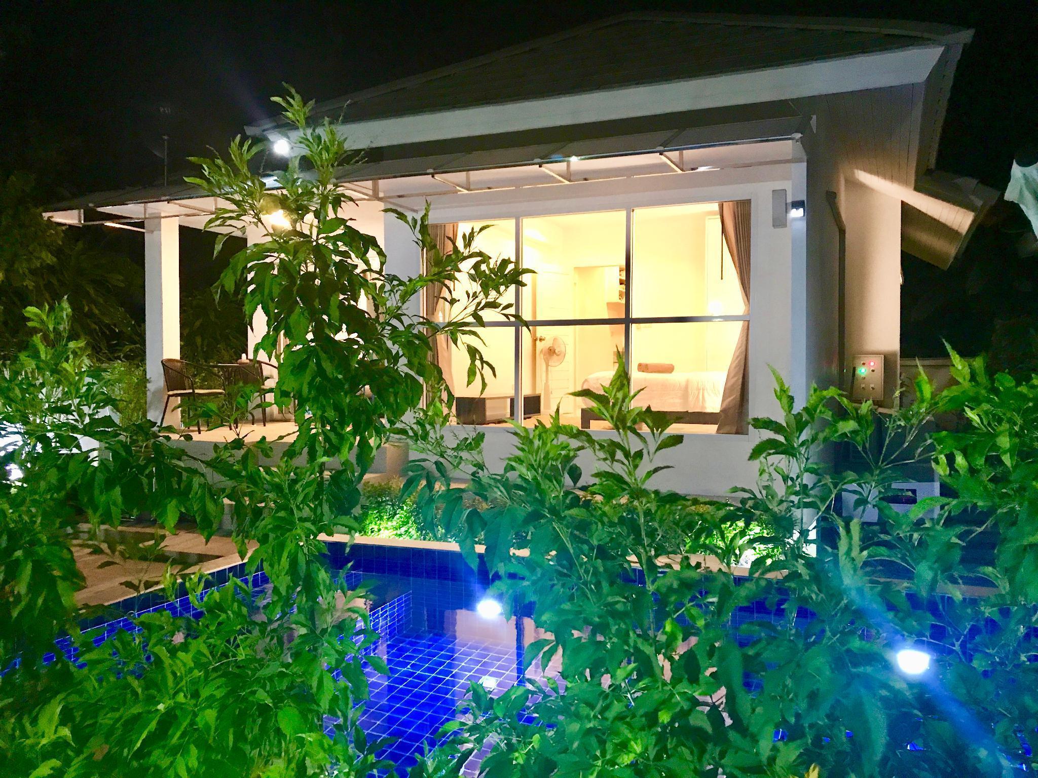 2 Bedroom Luxury Pool Villa Jasmine -walk to beach วิลลา 2 ห้องนอน 1 ห้องน้ำส่วนตัว ขนาด 130 ตร.ม. – บางปอ
