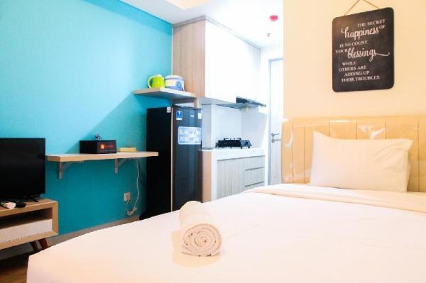 Homey Studio Room Akasa Apartment By Travelio Tangerang