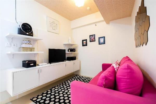 Modern 1BR Apartment @ Green Pramuka By Travelio Jakarta