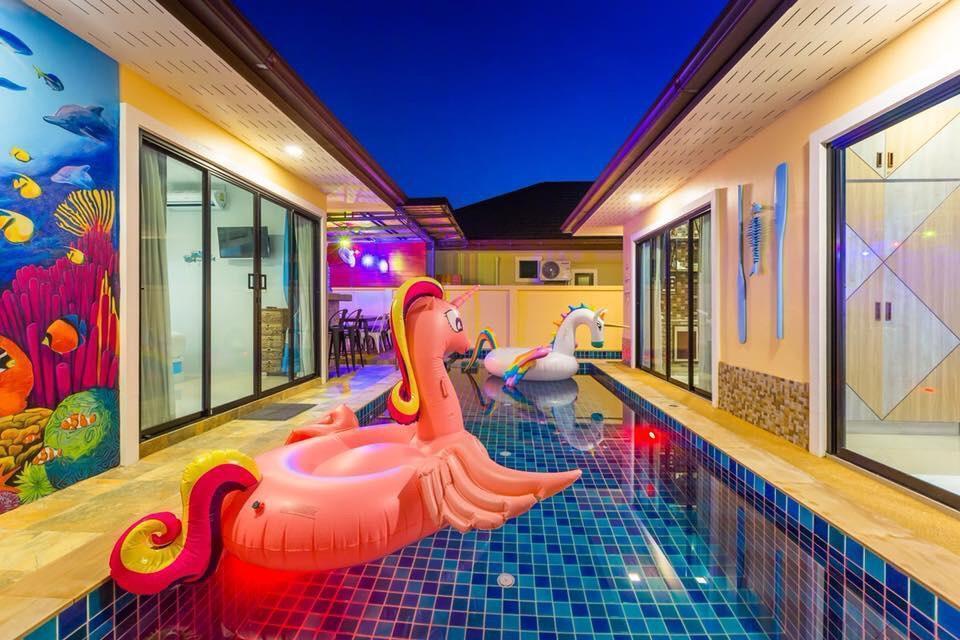 Sea Breeze Pool villa วิลลา 3 ห้องนอน 3 ห้องน้ำส่วนตัว ขนาด 150 ตร.ม. – อ่าวนาง