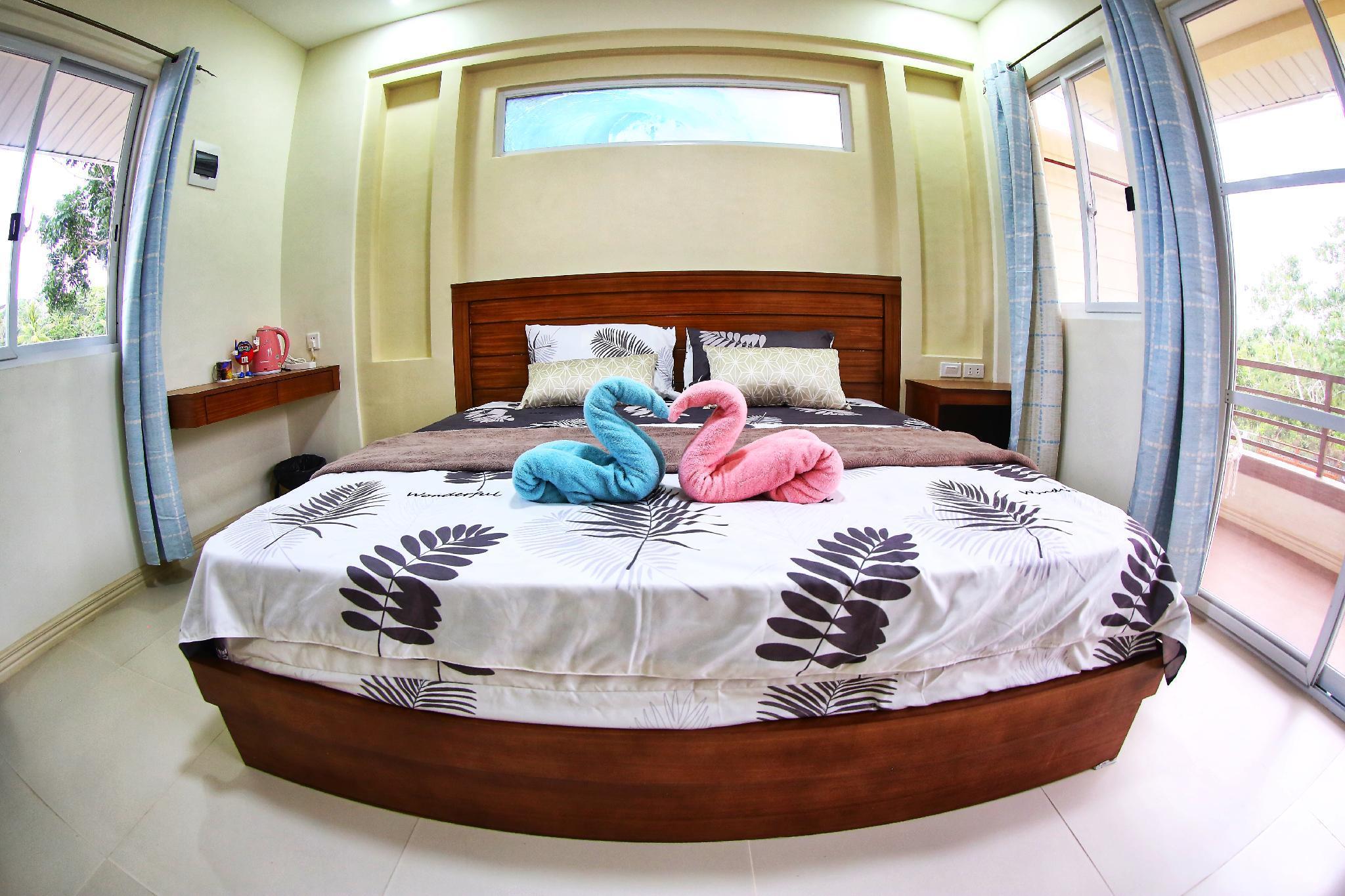 Frank And Bonnie Apartment 2floor35SQM1kingbedAircon