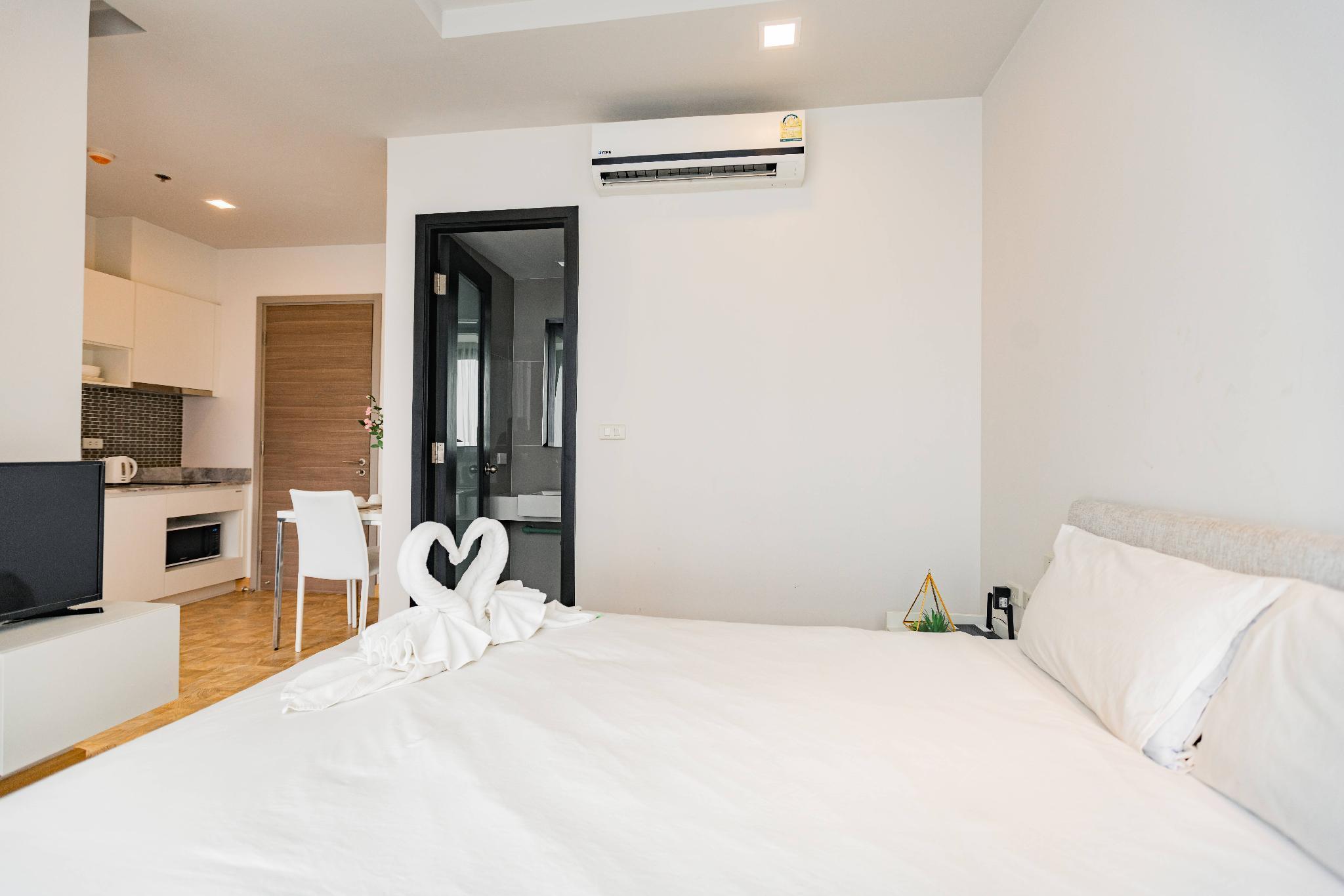 1 bedroom studio, Skypool pattaya posh สตูดิโอ อพาร์ตเมนต์ 1 ห้องน้ำส่วนตัว ขนาด 26 ตร.ม. – พัทยาเหนือ
