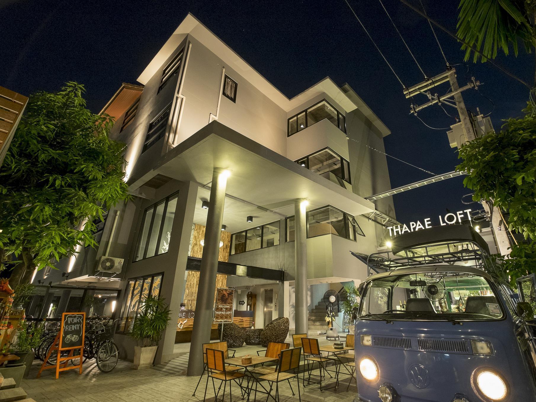 Thapae Loft Hotel ท่าแพ ลอฟต์ โฮเต็ล