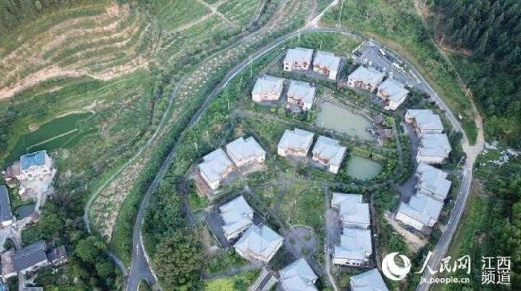 There Are Ten Scenic Jinggangshan Farmhouse Villa