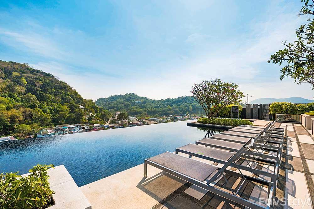 Amazing Sky Pool Rooftop 1BR Phuket City