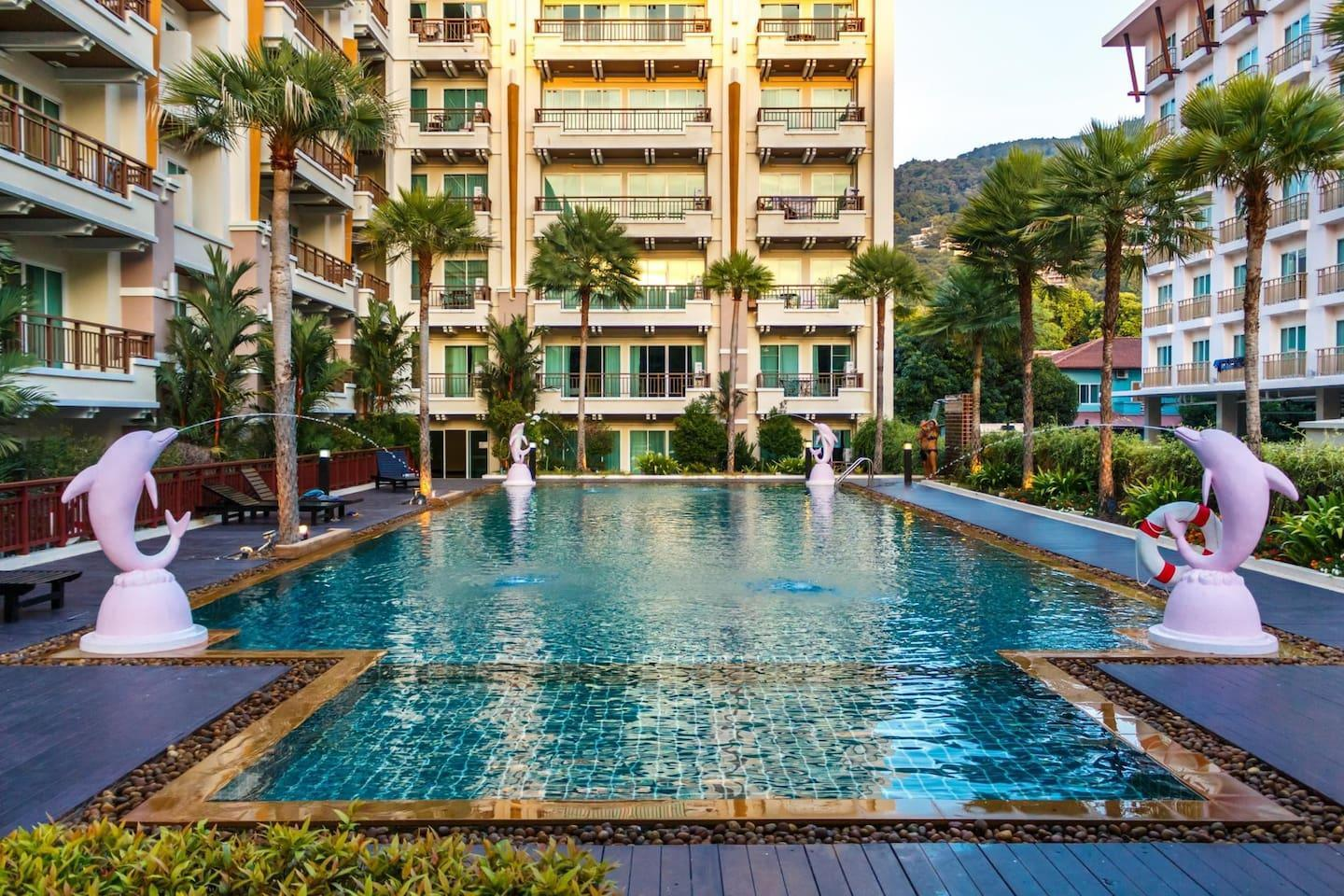 PV60 - 1 BR in the best Patong location, with pool