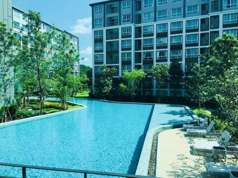 near the central festival with a big swimming pool อพาร์ตเมนต์ 1 ห้องนอน 1 ห้องน้ำส่วนตัว ขนาด 40 ตร.ม. – ฟ้าฮ่าม