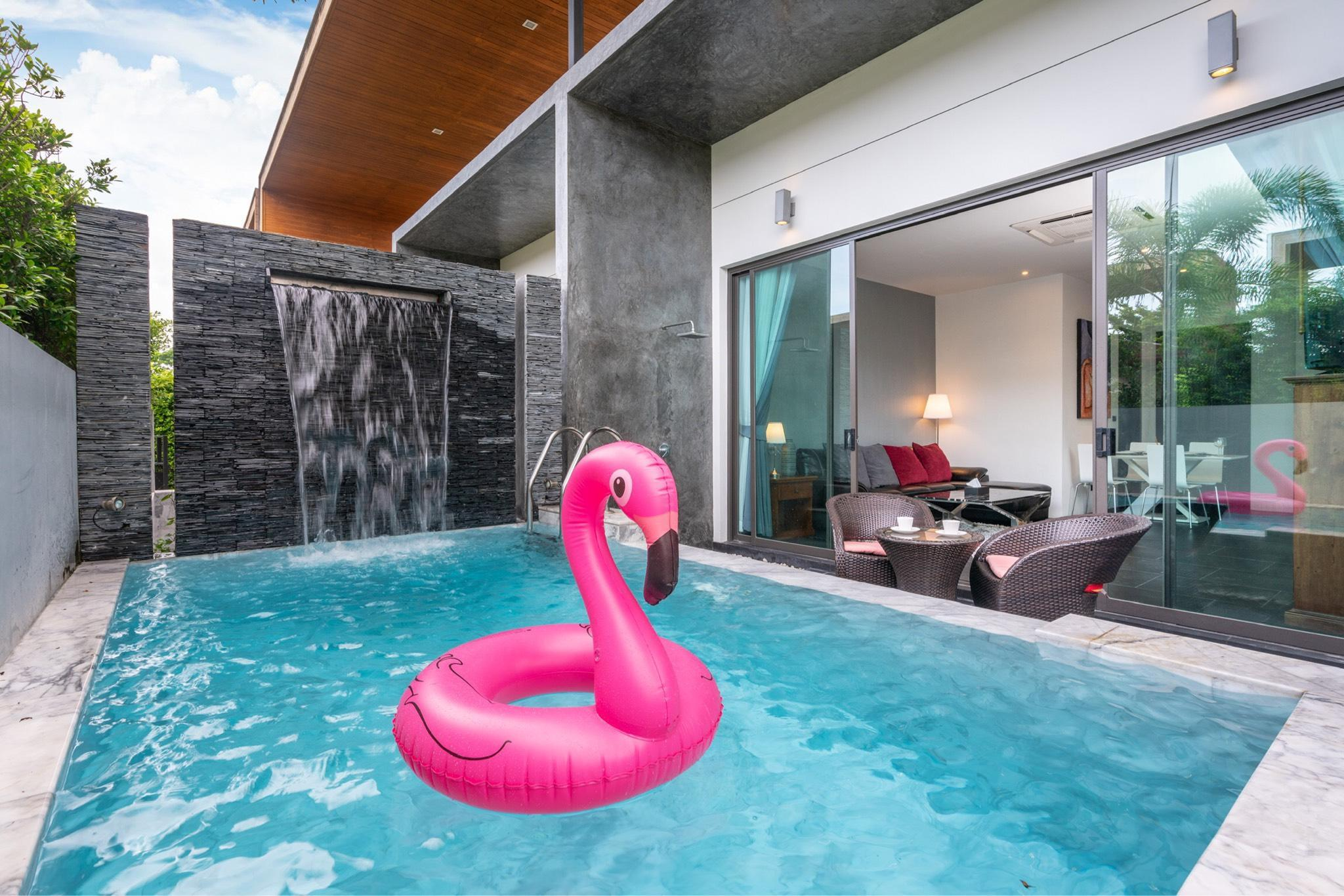 2Bedrooms Boutique Pool Villa at Chalong Phuket วิลลา 2 ห้องนอน 2 ห้องน้ำส่วนตัว ขนาด 140 ตร.ม. – ฉลอง