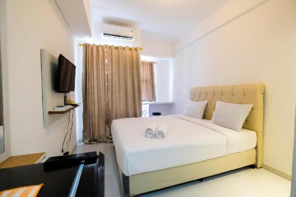 Gorgeous Studio Apt at Akasa Pure BSD By Travelio Tangerang