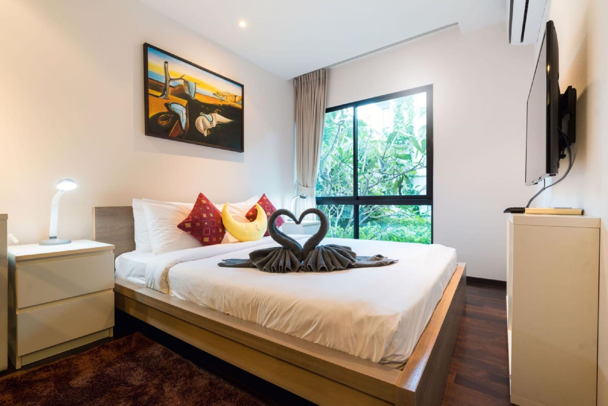1 BDR Apartment F202 at The Title Beach Rawai อพาร์ตเมนต์ 1 ห้องนอน 1 ห้องน้ำส่วนตัว ขนาด 43 ตร.ม. – หาดราไวย์