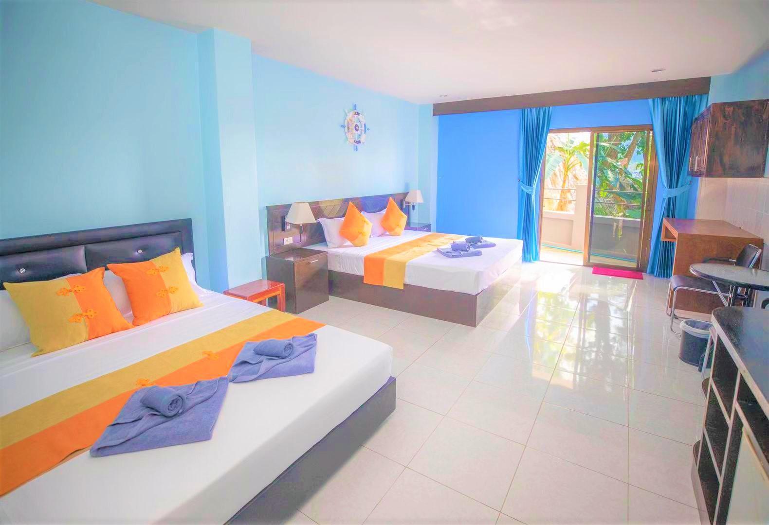 DS Villa Family Room-80 อพาร์ตเมนต์ 1 ห้องนอน 1 ห้องน้ำส่วนตัว ขนาด 36 ตร.ม. – ป่าตอง