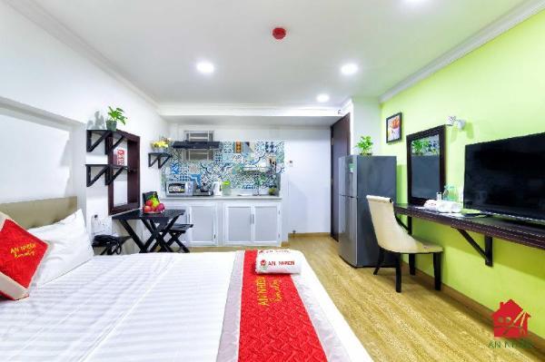 AN HomeStay*DB Cozy Lovely Studio Near TSN Airport Ho Chi Minh City
