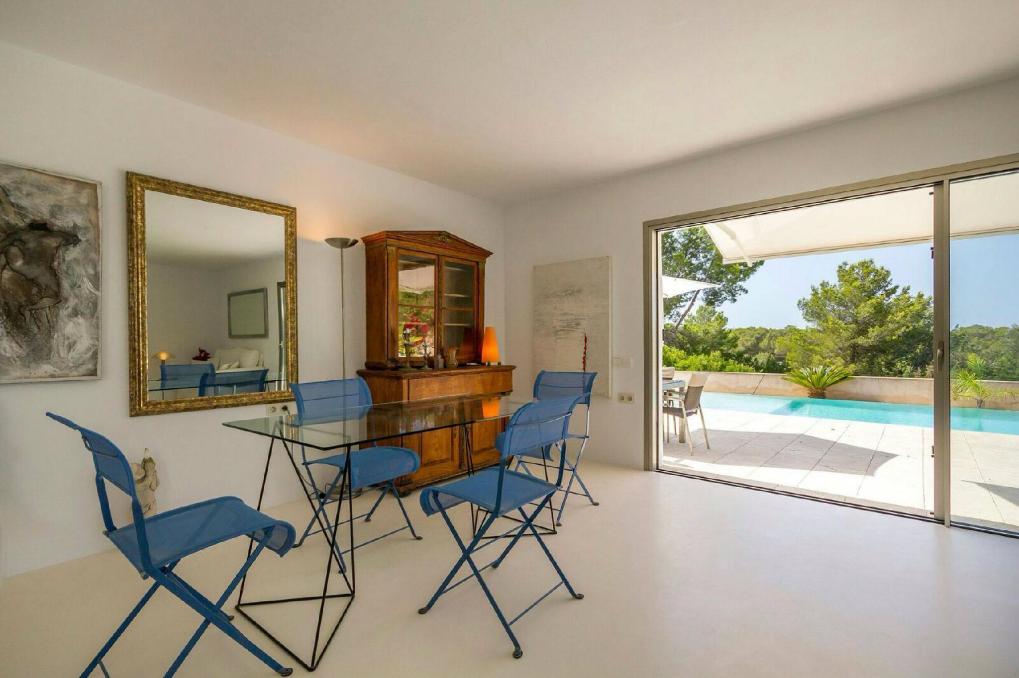 Can German   Minimalistic Villa With Panoramic Sea Views And Dalt Vila