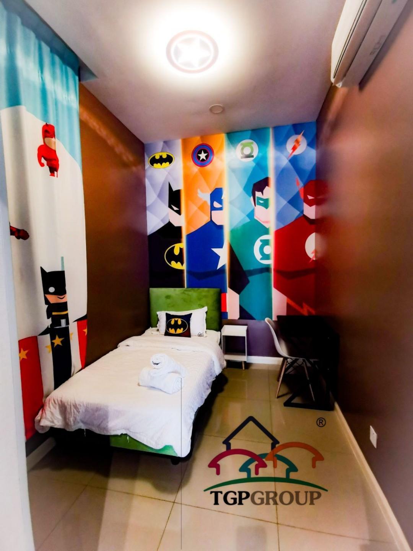 Marvel Themed At D'Pristine Apartment  TGP