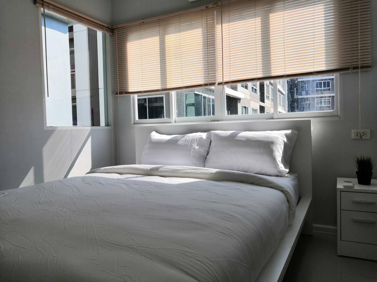 Kensington At Bearing 12, 1 Bedroom อพาร์ตเมนต์ 1 ห้องนอน 1 ห้องน้ำส่วนตัว ขนาด 30 ตร.ม. – บางนา