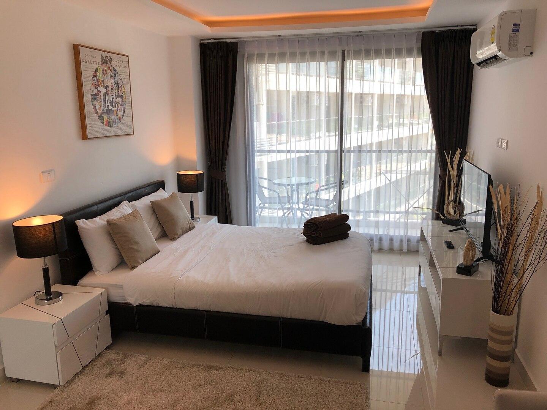 CONTEMPORARY Studio in Laguna Beach 3. - Maldives อพาร์ตเมนต์ 1 ห้องนอน 1 ห้องน้ำส่วนตัว ขนาด 28 ตร.ม. – หาดจอมเทียน