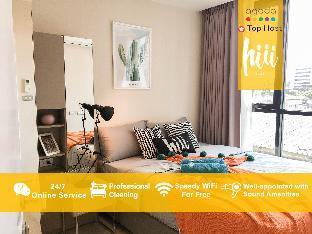 【hiii】Stylish space/Sukhumvit with Oasis&GymBKK143 อพาร์ตเมนต์ 1 ห้องนอน 1 ห้องน้ำส่วนตัว ขนาด 29 ตร.ม. – สุขุมวิท