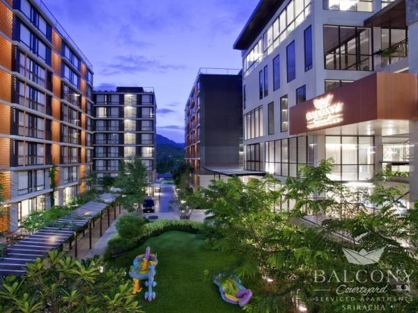 Balcony Courtyard Sriracha Hotel & Serviced Apartments Chonburi