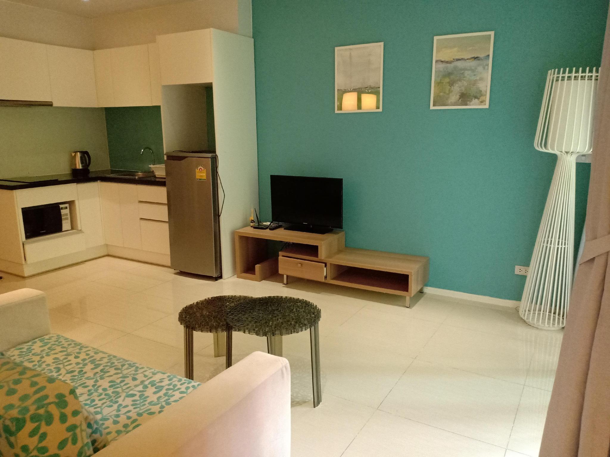Conner 1 bedroom full furniture อพาร์ตเมนต์ 1 ห้องนอน 1 ห้องน้ำส่วนตัว ขนาด 46 ตร.ม. – หาดจอมเทียน