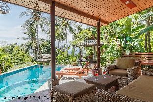 [ハッドサラッド]ヴィラ(350m2)| 3ベッドルーム/2バスルーム EXOTIC 3br - Pool, Sea View, Lush Garden
