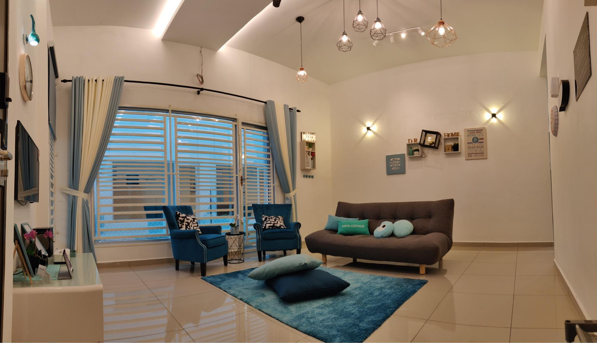 New House Aisya  With 4 Aircond Rooms + FREE WIFI